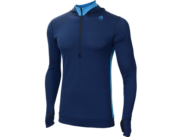 Aclima LightWool Sudadera Hombre, insignia blue/blithe